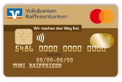 Goldkarte Mastercard©