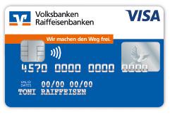 Kreditkarte beantragen von Visa oder Mastercard®